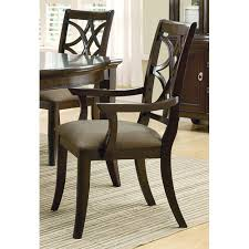 coaster furniture meredith dining arm chair with fabric cushion seat birch office furniture