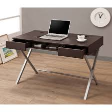 coaster contemporary computer workstation office desk table modern computer desks allmodern contemporary desk walmart home decor amazoncom coaster shape home office