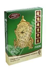 """""""<b>Сборная деревянная модель</b> """"Ажурные часы"""" (F006)"""" купить ..."""