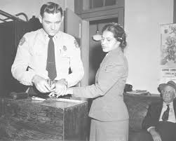 rosa parks was arrested for second time on this date in  rosa parks whose refusal to move to the back of a bus touched off the montgomery bus boycott and the beginning of the civil rights movement