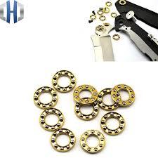 2 pieces Folding Knife Screw Accessories Flipper <b>Ball</b> Bearing <b>Balls</b> ...