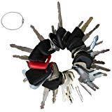 pc-7 keys 4 pcs for <b>komatsu</b> excavator <b>pc120</b>-7 pc130-7 pc200-7 ...