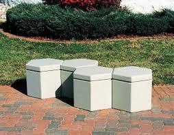 <b>Single Seater Stool</b> Modern Hexagon Concrete Stool, Without Back ...