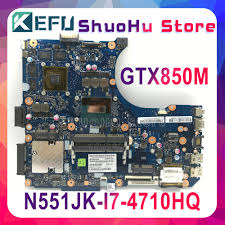 <b>KEFU</b> For <b>ASUS</b> N551JK N551J REV 2.0 CPU I7 4710HQ ...