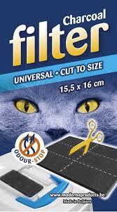 """<b>Универсальный фильтр</b> для кошачьего туалета """"<b>Moderna</b>"""", 15х16 ..."""