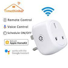 Timethinker <b>WiFi Socket</b> For Apple Homekit <b>Smart EU Plug</b> Work for ...