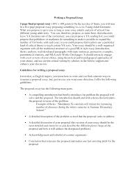 example of an essay proposal template example of an essay proposal