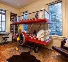 super cool airplane beds for boys bedroom design with aviation theme awesome design kids bedroom