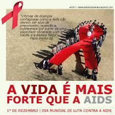 Resultado de imagem para Dia Internacional de luta contra a Aids