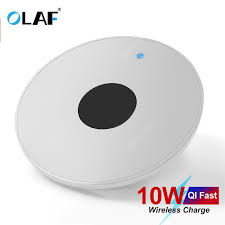 <b>OLAF Wireless Charger for</b> iPhone Xs Max 8 Plus 10W Fast ...