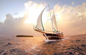 Sailing in Maldives – a differ…