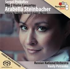 On Air: Arabella Steinbacher plays both of <b>Prokofiev's Violin</b> ...