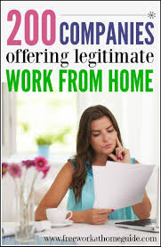 best ideas about jobs at home make money at home 200 companies offering legitimate work at home jobs