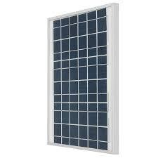 [US$33.45] Silver/Black <b>10W 18V</b> Polycrystalline Silicon <b>Solar Panel</b> ...