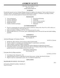 unforgettable assistant manager resume examples to stand out    assistant manager resume sample