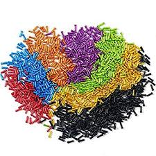 Z&S Pack of 50pcs <b>Aluminium Alloy</b> Bicycle Cable <b>End</b> Caps Bike ...