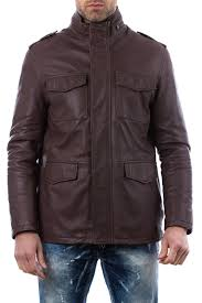 <b>Кожаная куртка AD MILANO</b> арт DAR543_BROWN BROWN ...