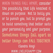 Things Fall Apart Quotes - Bing images via Relatably.com