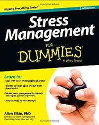 <b>Stress Management</b> for Dummies book by <b>Allen Elkin</b>