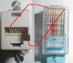 rs pinouts cables rj45 plug socket pin numbering connector pinouts