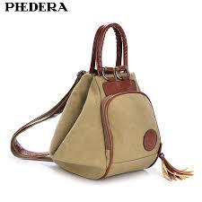 <b>PHEDERA</b> Classic <b>Female</b> Vintage <b>Canvas</b> Backpacks Korean ...