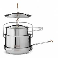<b>Набор посуды Primus CampFire</b> Cookset S.S. Large - купить в КАНТе