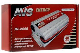 <b>Автомобильный инвертор AVS</b> 24/12V <b>IN-2440</b> (40A) [43899 ...