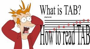 tab gitar, tabulasi gitar, membaca tab gitar, mengenal tab gitar, tab gitar adalah
