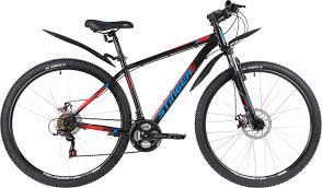 """<b>Велосипед Stinger Caiman</b> D, черный, <b>29</b>"""", рама 22"""" - купить по ..."""