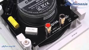 <b>Встраиваемая акустика APart</b> CMSQ 108 - YouTube