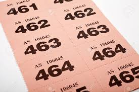 a page of raffle tickets stock photo picture and royalty a page of raffle tickets stock photo 15169085