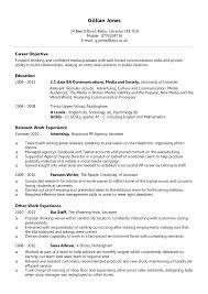 How To Write A Cv Cv Sample Resume pRlvTPls