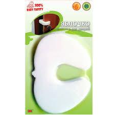 <b>Baby Safety Фиксатор</b> для дверей Яблочко 00085, цвет белый ...