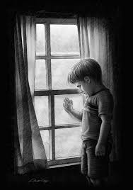 "Image result for sad child black "" name="