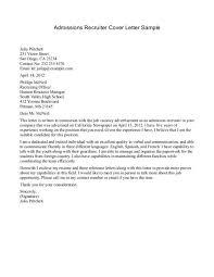 cover letter recruiter cover letter resume images about lettersrecruiter cover letter example medium size sample hr recruiter cover letter
