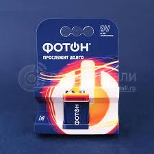 <b>Элемент питания Фотон</b> 6LR61 9V BP1