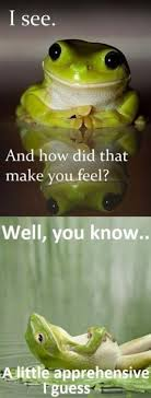 Therapy Frog | Know Your Meme via Relatably.com