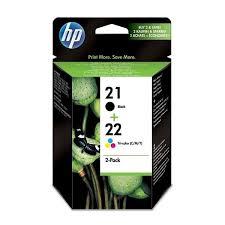 ≡ <b>Картридж струйный HP</b> No.21/22 Black/Tri-color Combo Pack ...