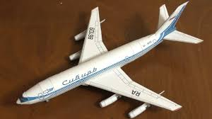 Ил-86 <b>модель</b> самолета из бумаги (ЮТ) - YouTube