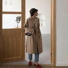 Осенне-зимнее женское <b>пальто</b>, пояс цвета хаки, длинный <b>Тренч</b> ...