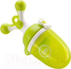 <b>Happy Baby</b> Nibbler Twist 15009 (лайм, с силиконовой сеточкой ...
