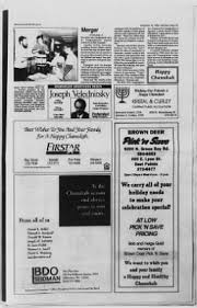 The Wisconsin Jewish Chronicle from Milwaukee, Wisconsin on ...