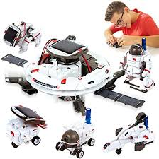 HOMOFY [2020 New Upgrade STEM Toys <b>6-in-1 Solar</b> Robot Kit