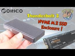 <b>ORICO Thunderbolt 3</b> NVMe M.2 SSD Enclosure SCM2T3-G40 with ...