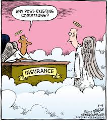 Image result for caricature of an insurance agent