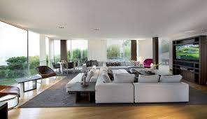 living room awesome living room design with tv wall panel also glass window and modern awesome living room design