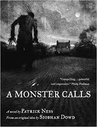 A Monster Calls by Patrick Ness, Book Cover