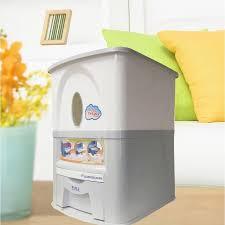 Tayama 33 lbs. <b>Capacity Rice Dispenser</b> in White | <b>Storage</b> | Tidy ...