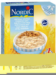<b>Хлопья Овсяные</b> быстрого приготовления. <b>500</b> гр. <b>Nordic</b> ...