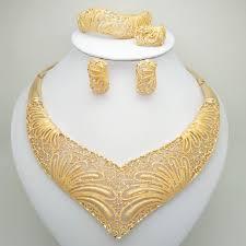 <b>Wholesale</b> Fashion African Beads <b>Jewelry</b> Set Nigeria Dubai <b>Gold</b> ...